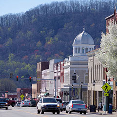 Downtown Marion NC